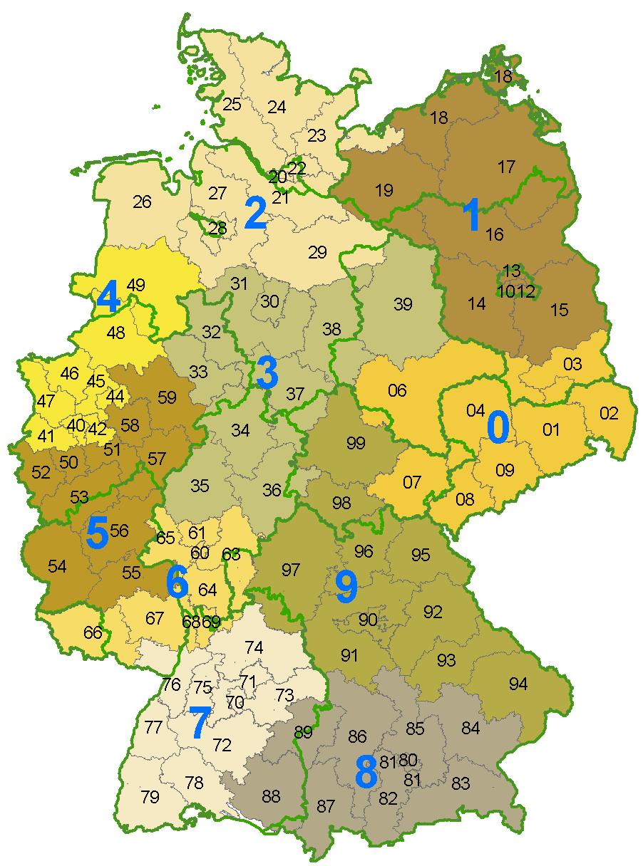 Brennholzhandel und Brennholzhaendler nach Postleitzahlen in Deutschland